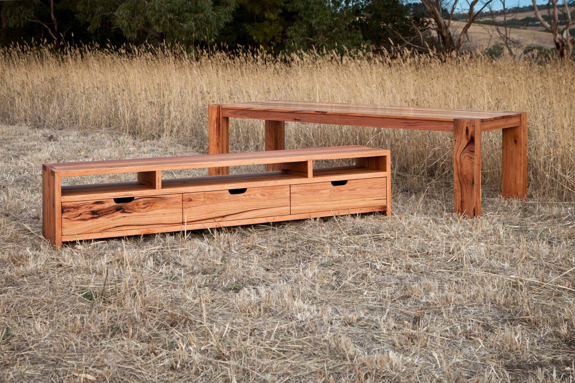 custom made timber tv unit