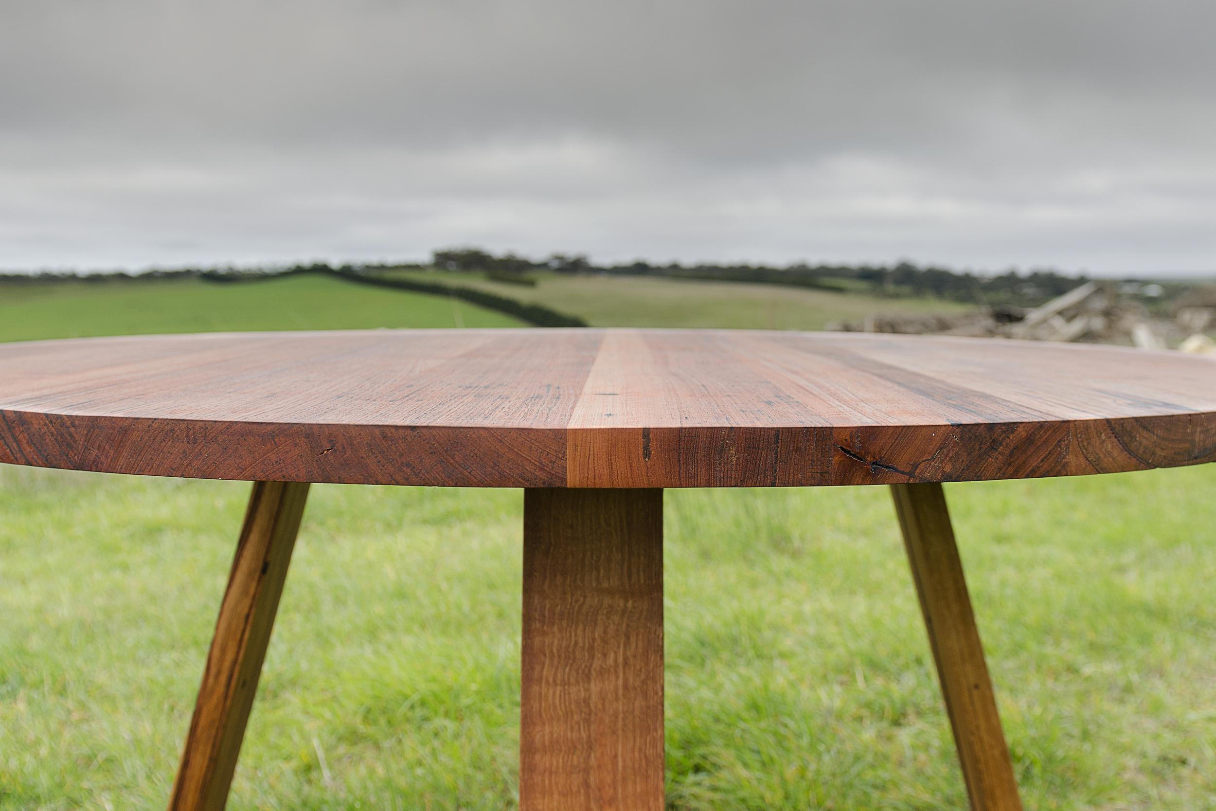 Bird rock dining table