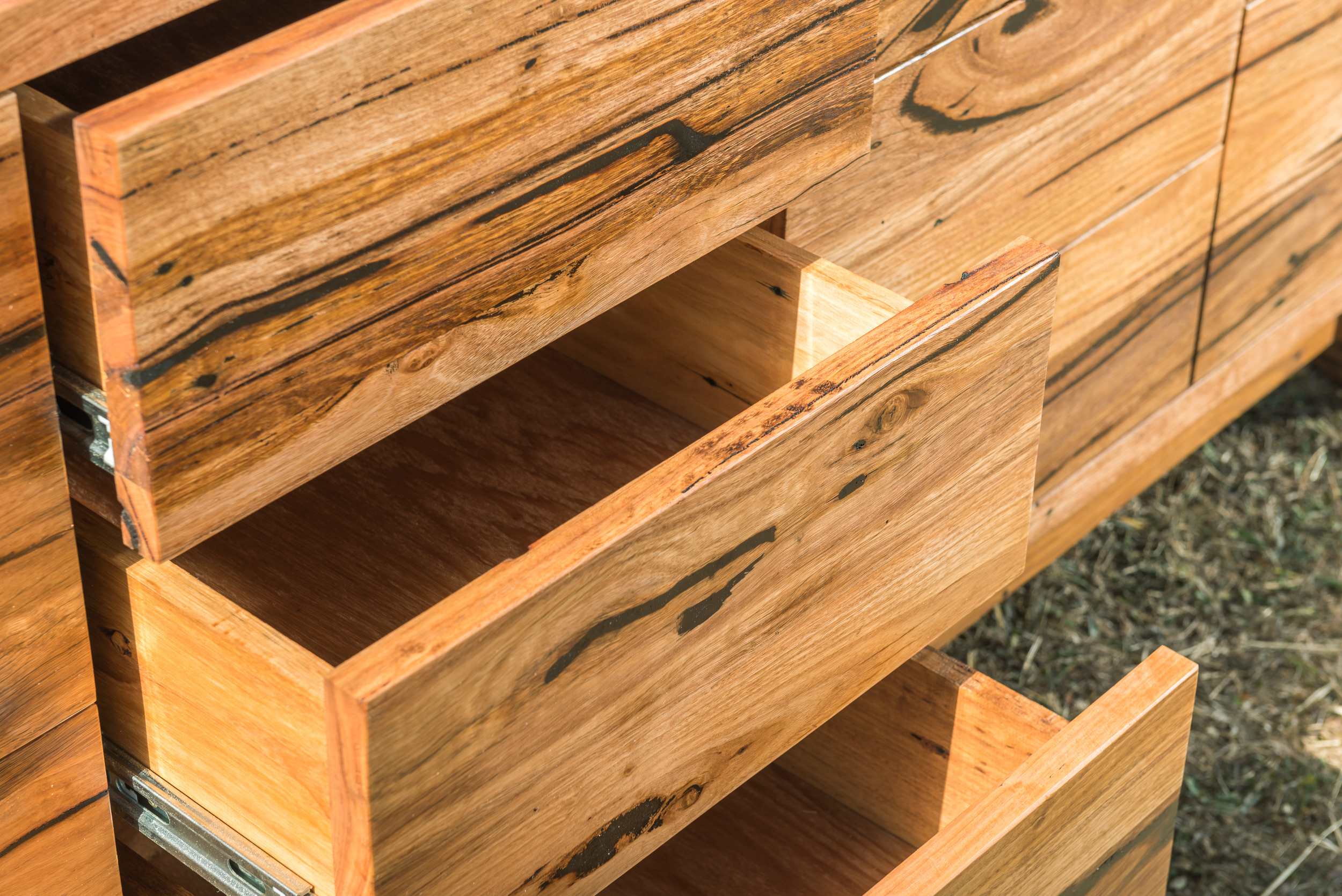 recycled timber low boy