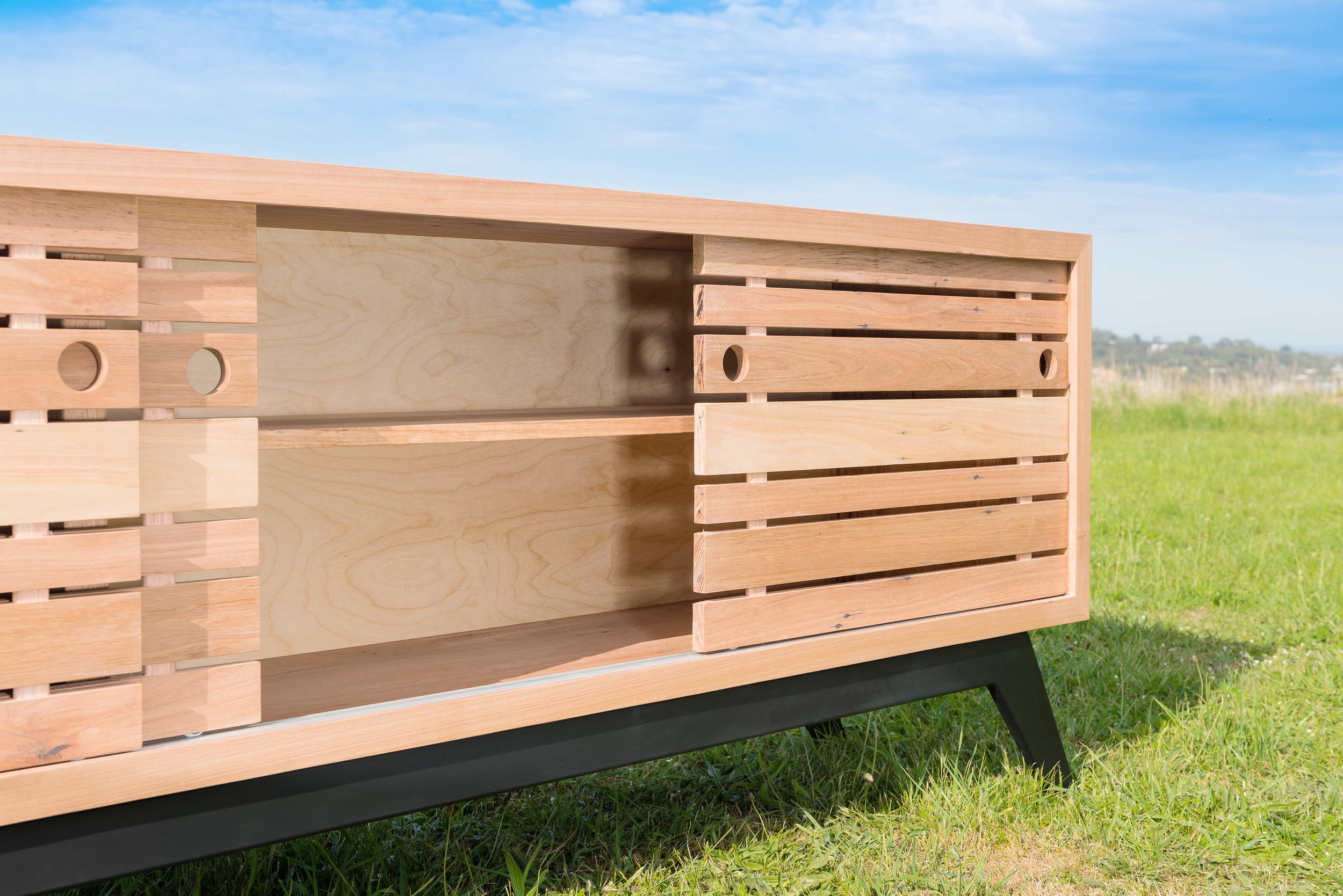 low profile sideboard