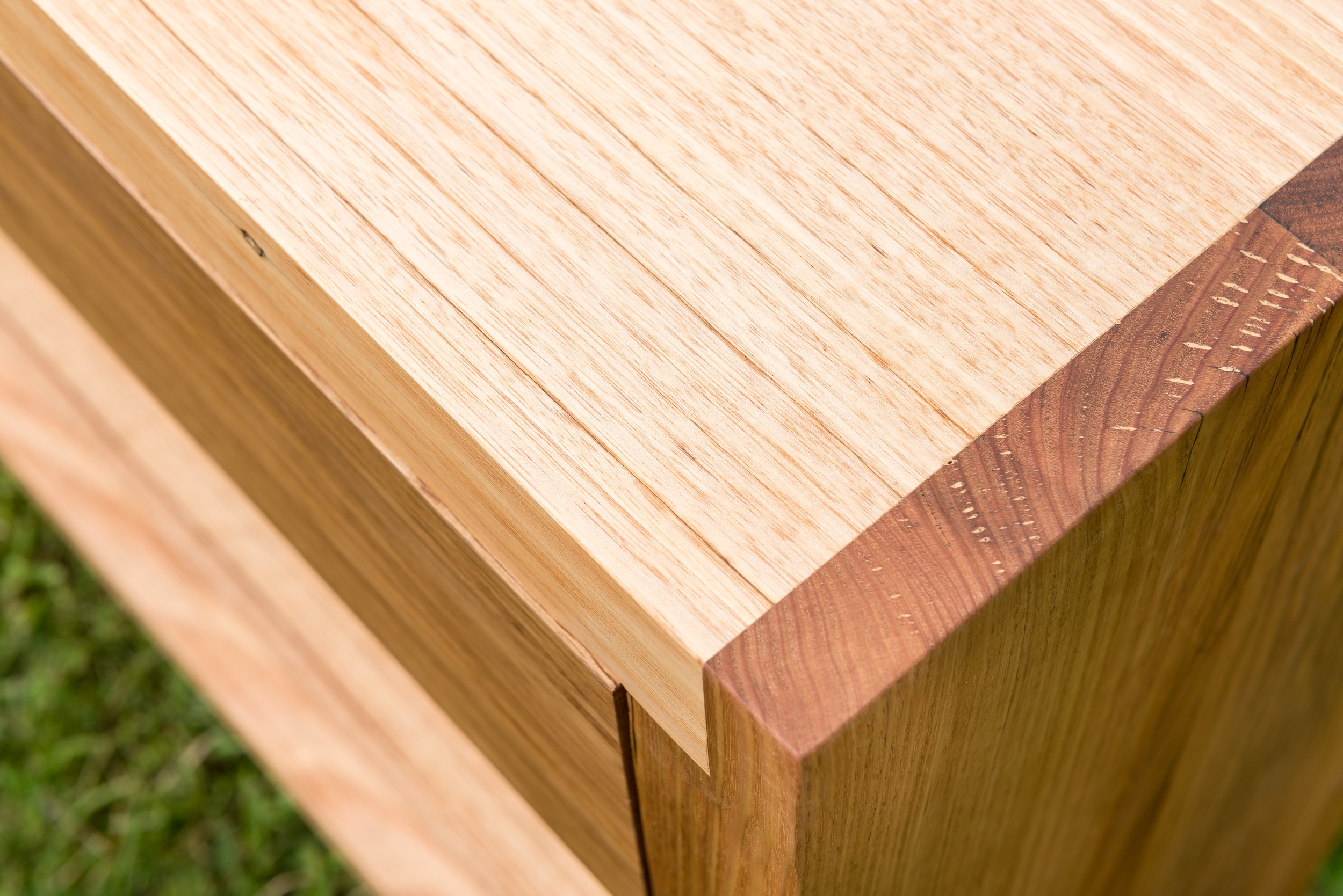chunky timber console