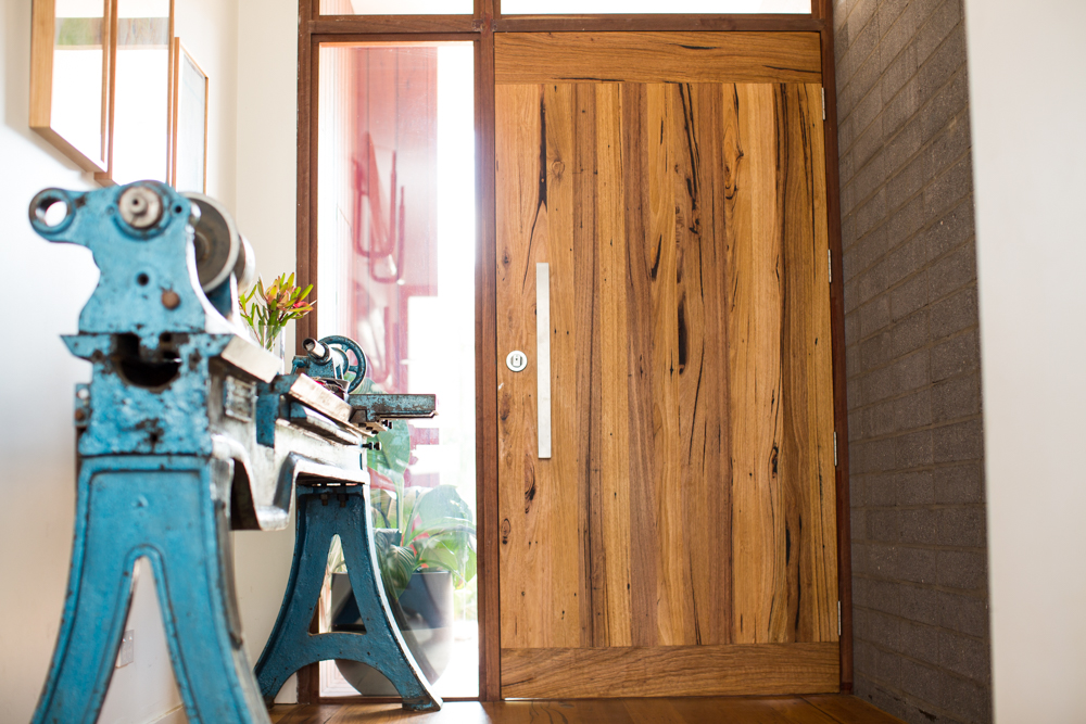 custom timber door jamb
