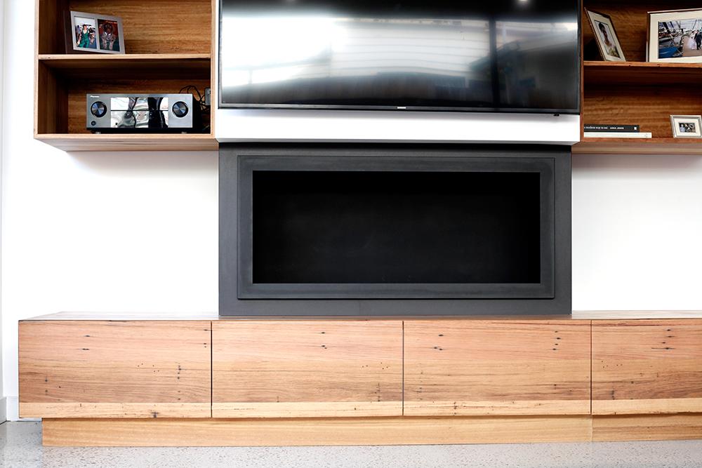 in built tv unit