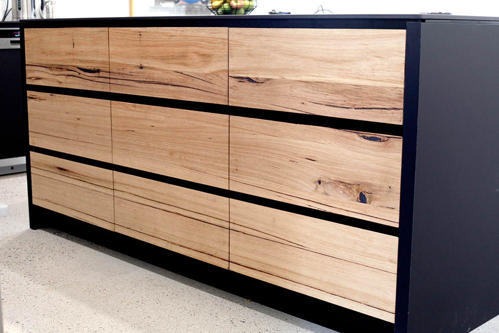 timber kitchen drawers and doors Melbourne