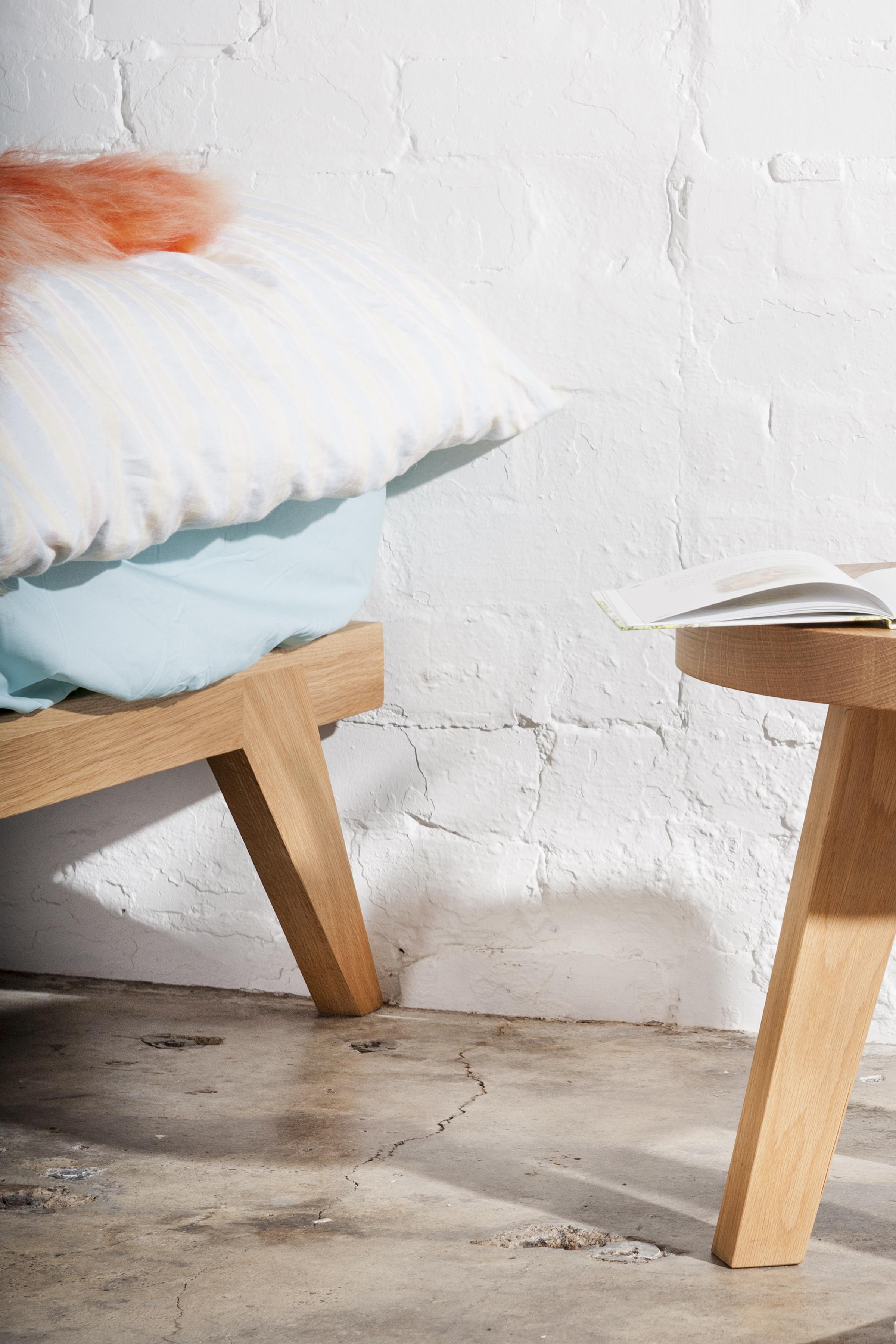 solid timber bed frame Melbourne