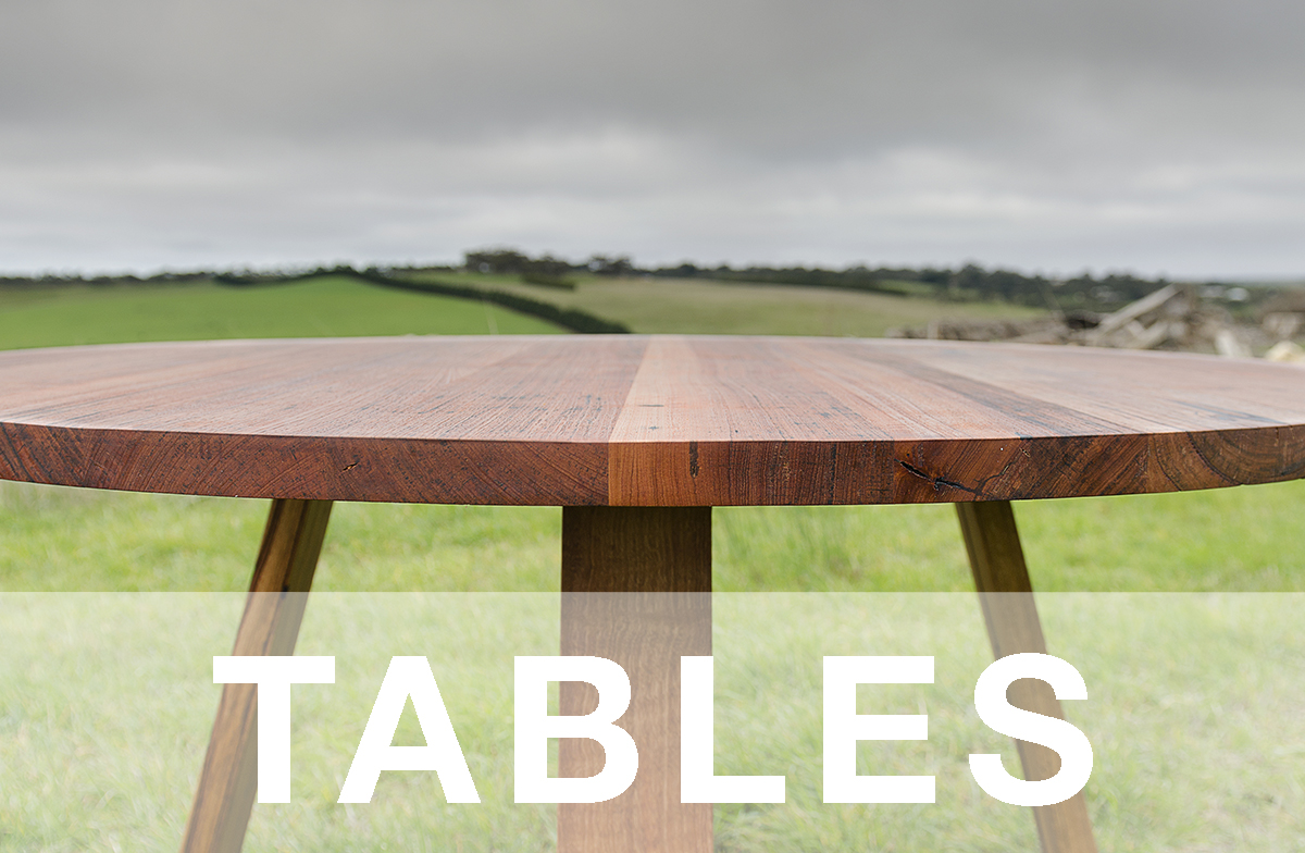 recycled timber dining tables sale