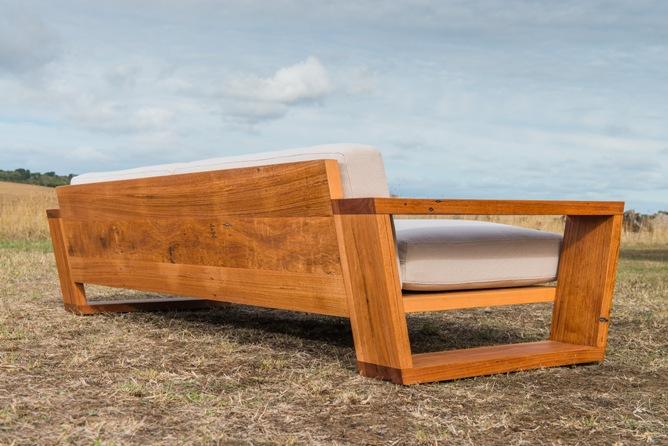 timber frame sofa