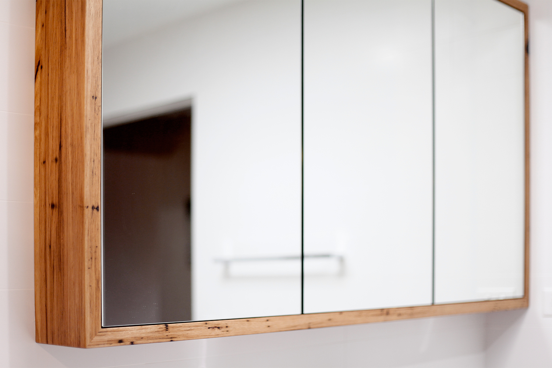 timber frame shaving cabinet