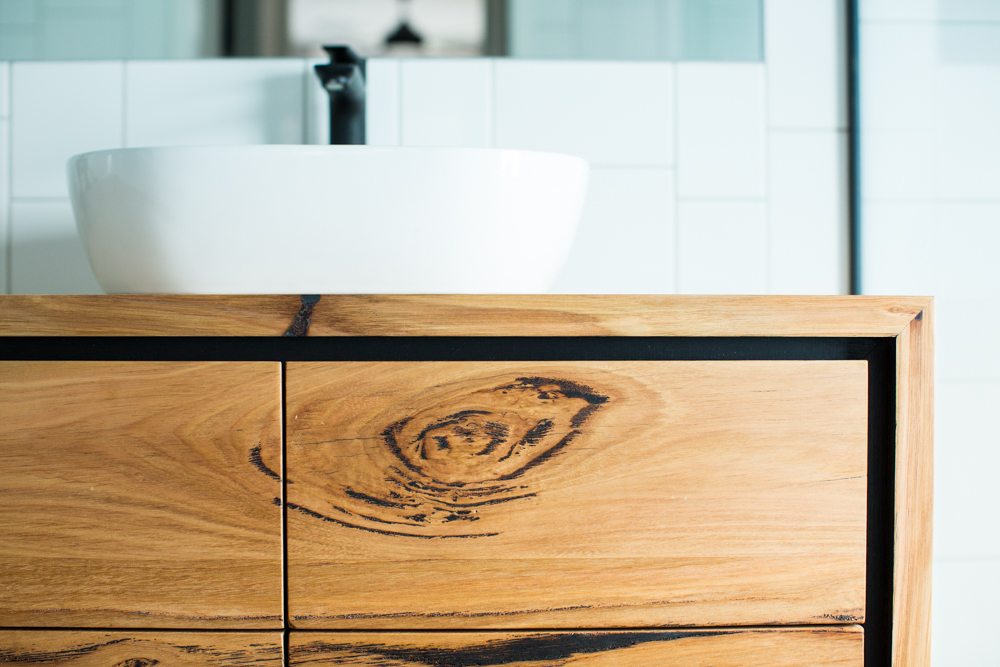 Floating bathroom cabinet with drawers | Bombora Custom Furniture