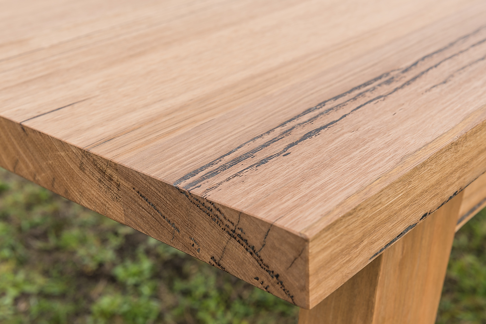 Wormy Chestnut timber bench top