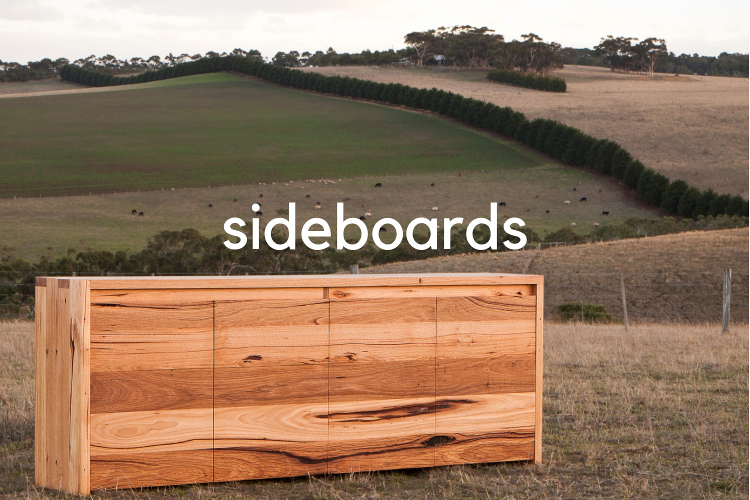 custom timber sideboards