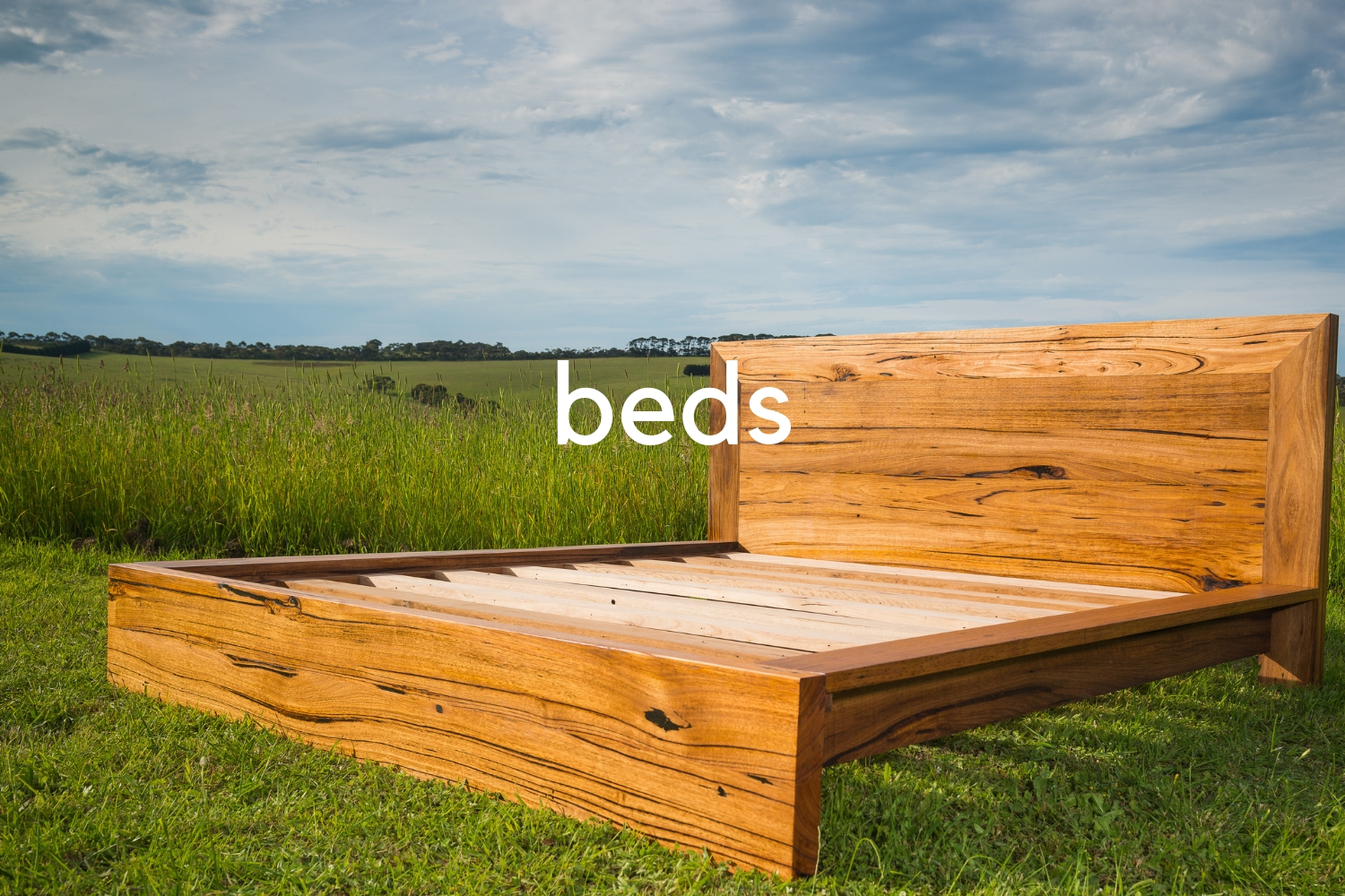 recycled timber beds
