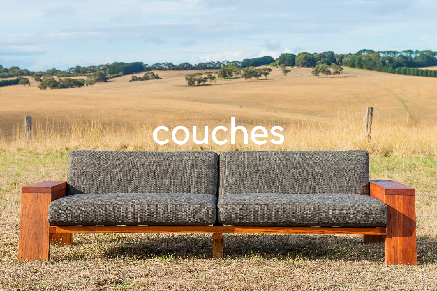 timber frame couch or sofa
