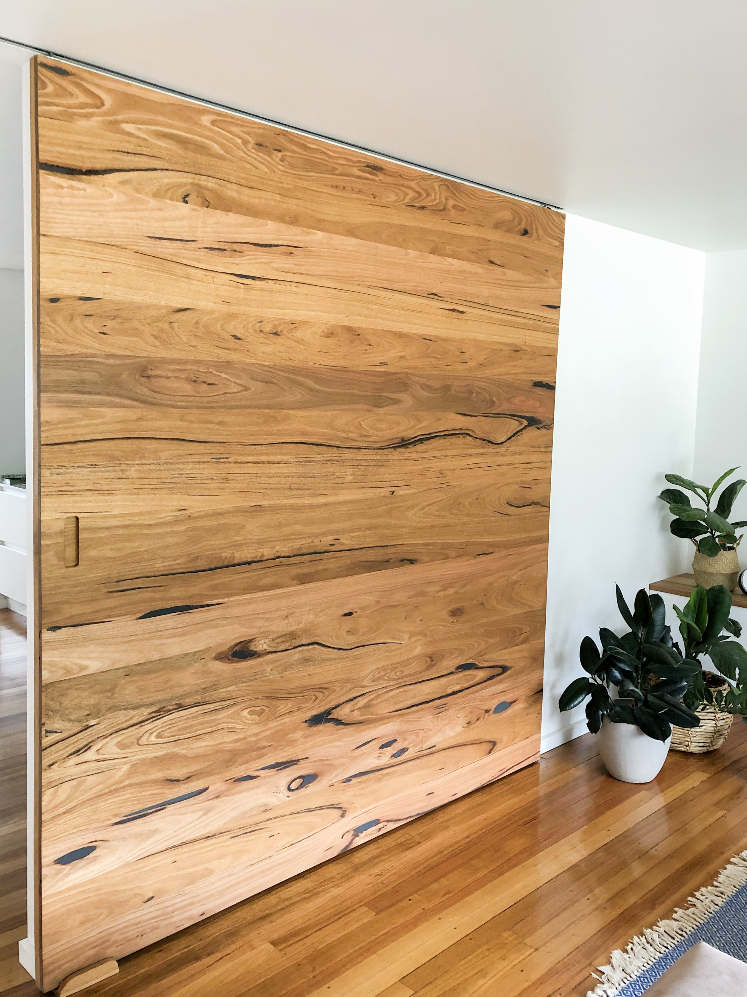 Recycled Messmate barn door