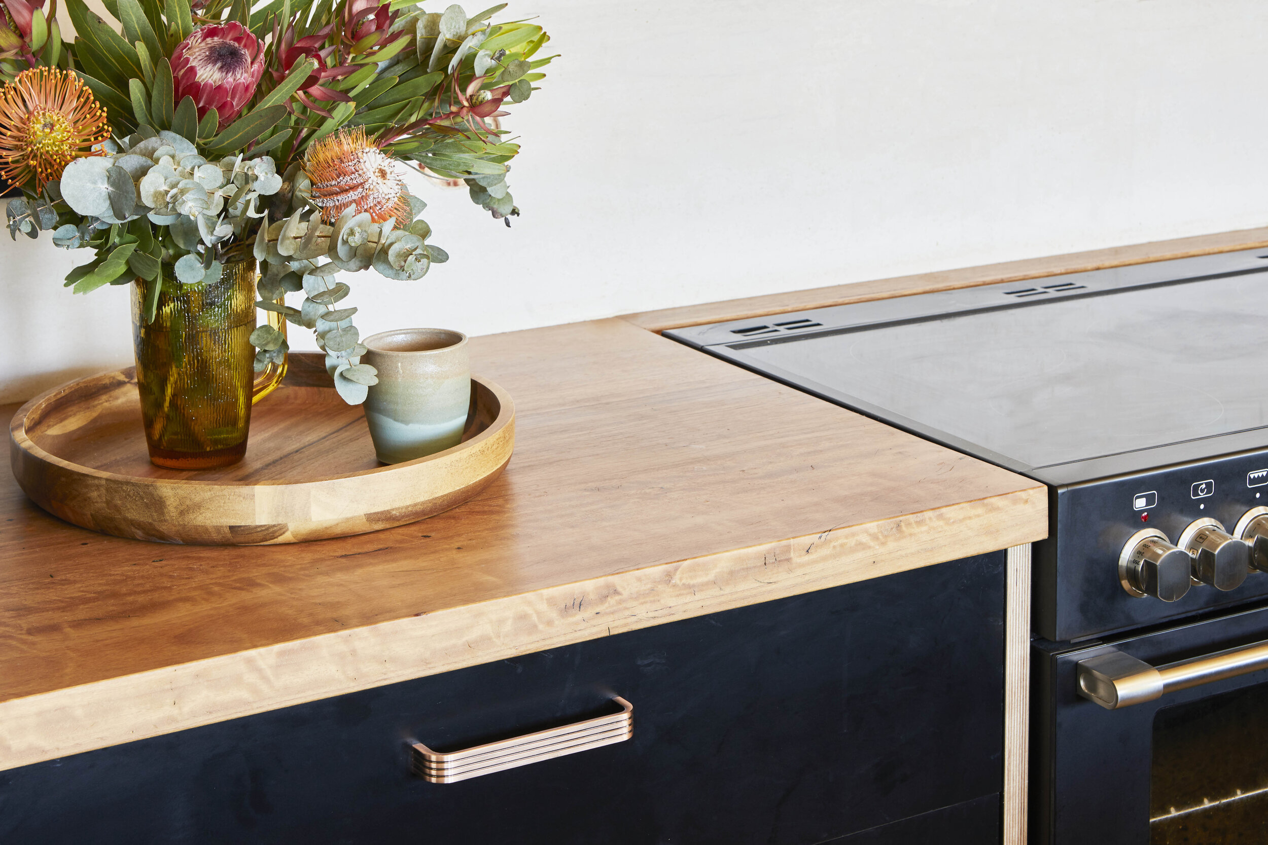recycycled timber bench tops