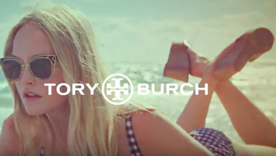 T  ory Burch Spring Summer 2018 Collection   Video       Look Blue Go Purple  As Does The Sun               Licensed courtesy of Flying Nun Records