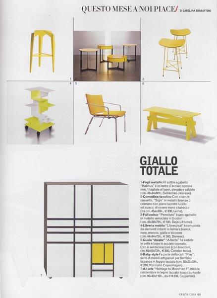 Grazia casa - Nobember 2009 - Italy - p 65 - Librespiral