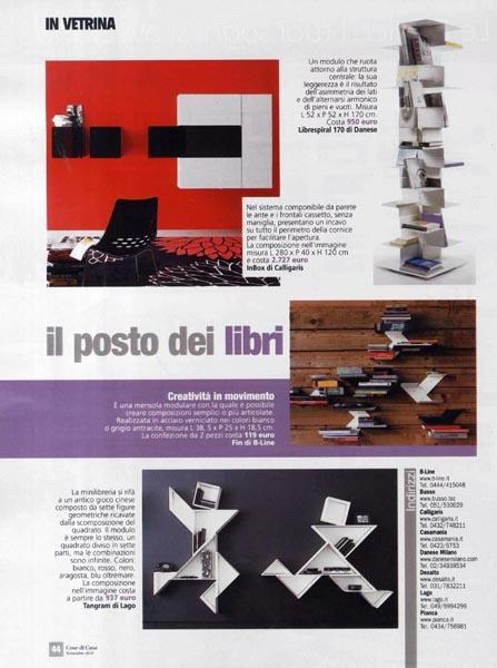 Cose di Casa - November 2010 - Italy - p 44 - Librespiral 170