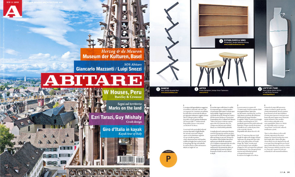 Abitare - February 2012 - Italy - p 145 - Rise