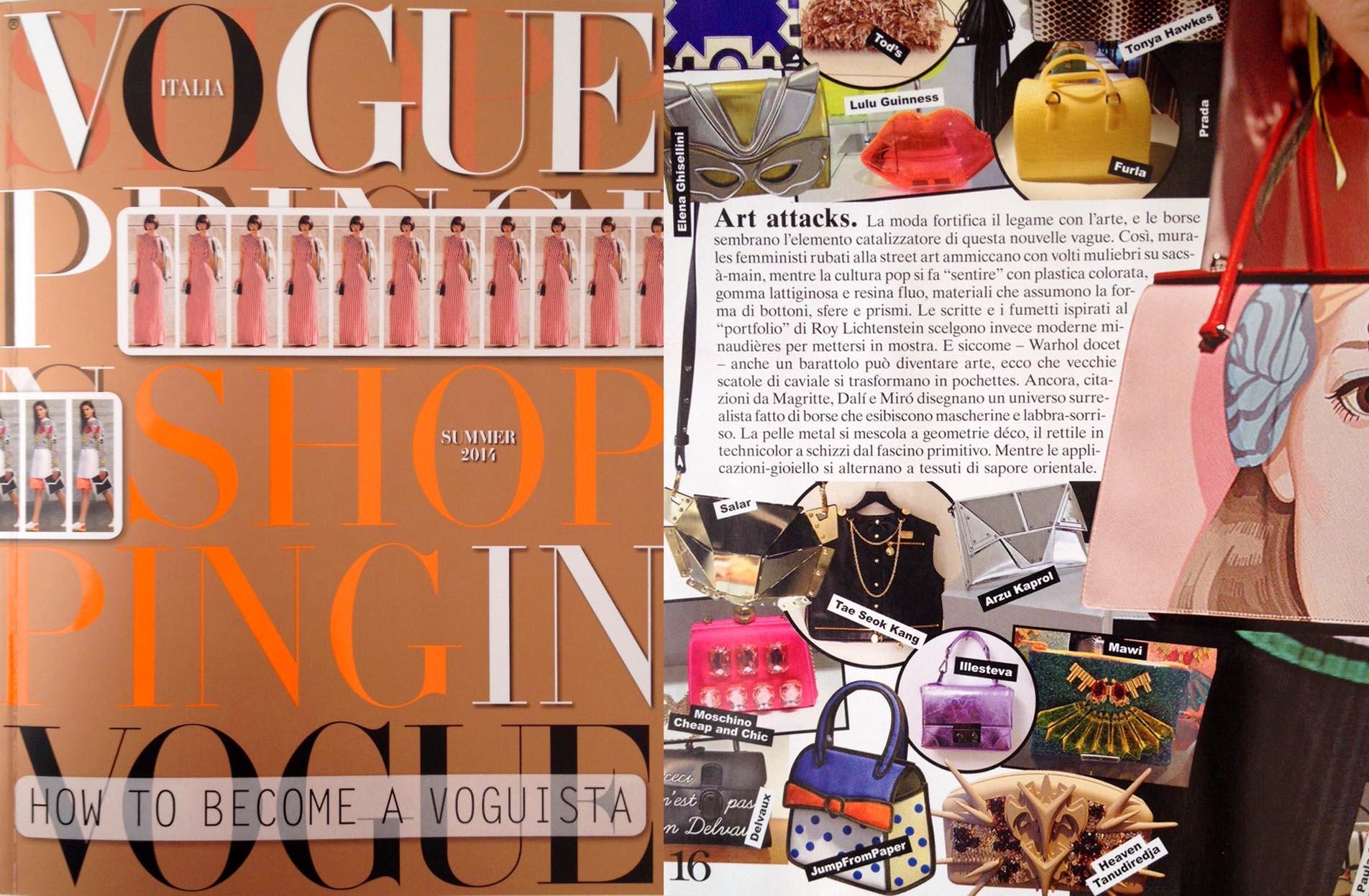 Vogue Shoping - Febrary 2014 - Italy - p 16 - Xagauara