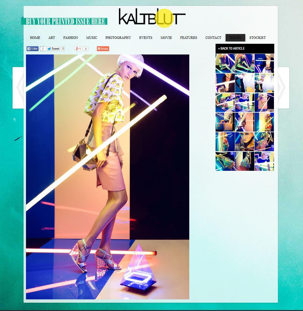 Kaltbut Magazine - April 2014 - Germany - Xaguara