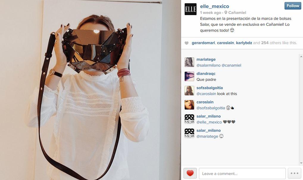Elle Mexico Instagram - April 2014 - Mexico - Xaguara