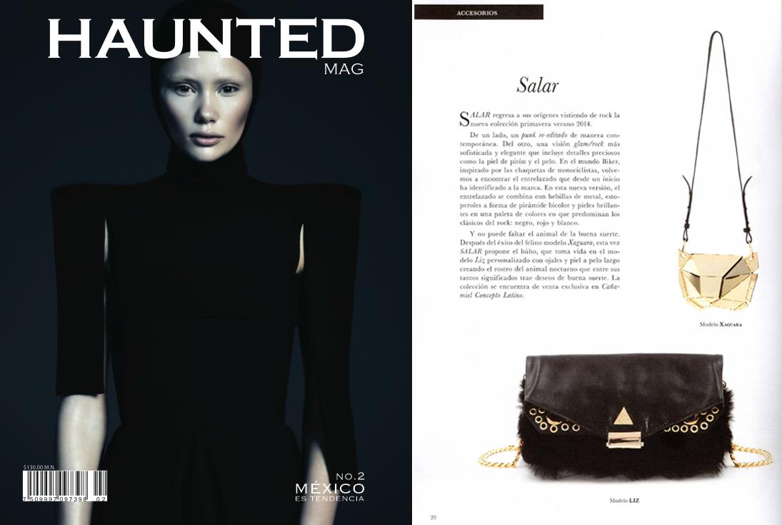 Haunted magazine - May 2014 - Mexico - Xaguara