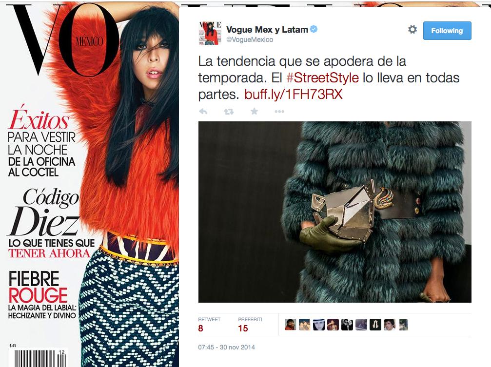 Vogue - December 2014 - Mexico - Xaguara