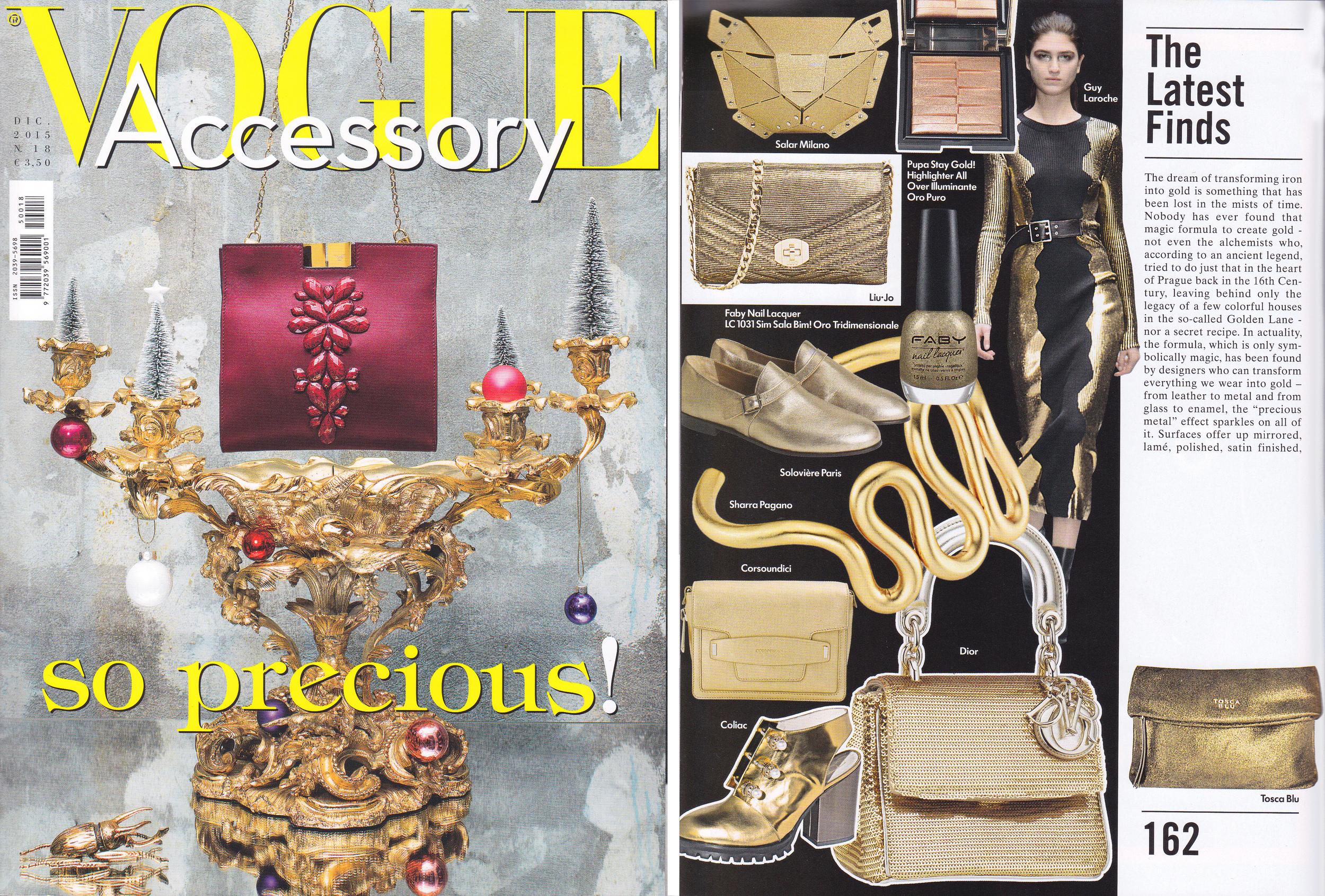 Vogue Accessory - December 2015 - Italy - Xaguara