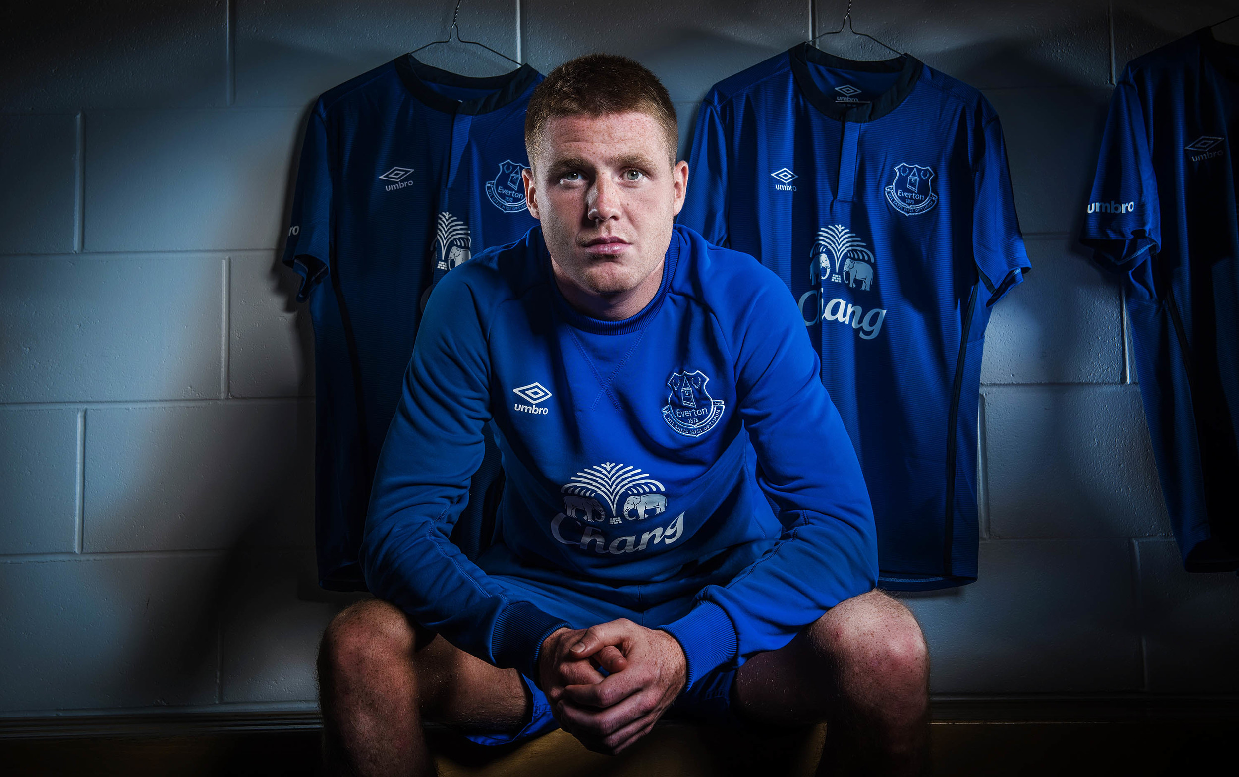 JAMES MCCARTHY FOOTBALLER AT EVERTON 25TH AUGUST 2014