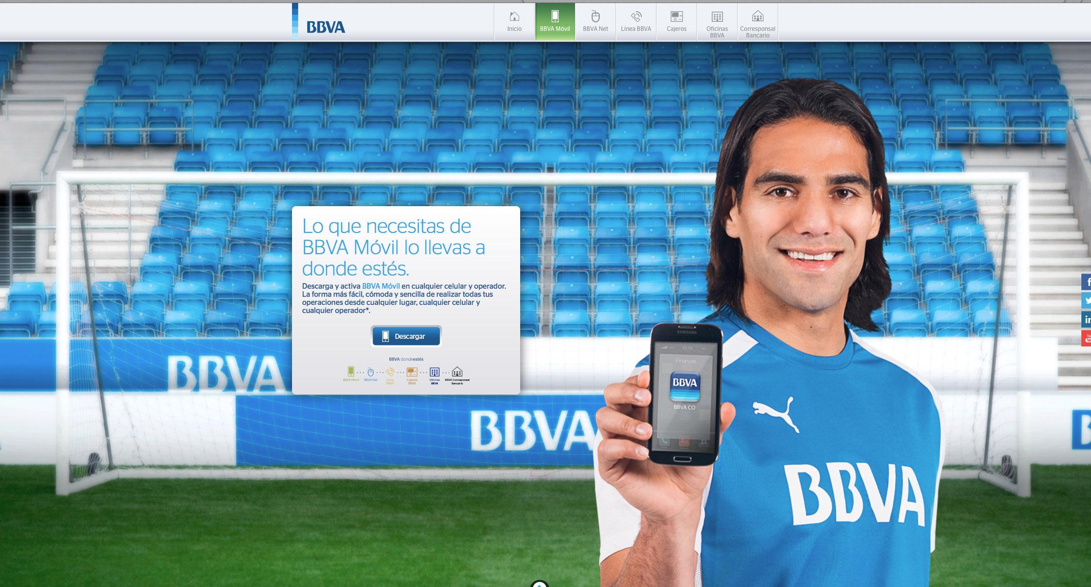 FALCAO FOR BBVA BANK