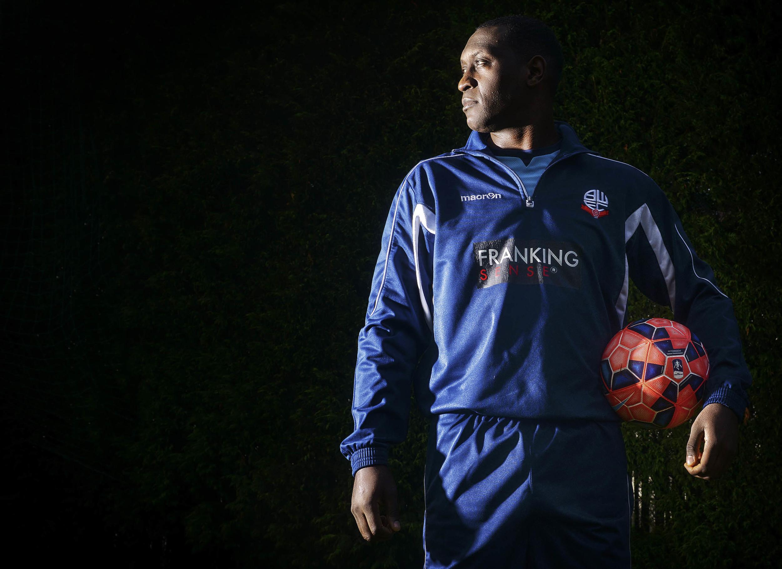 Emile Heskey of Bolton Wanderers FC