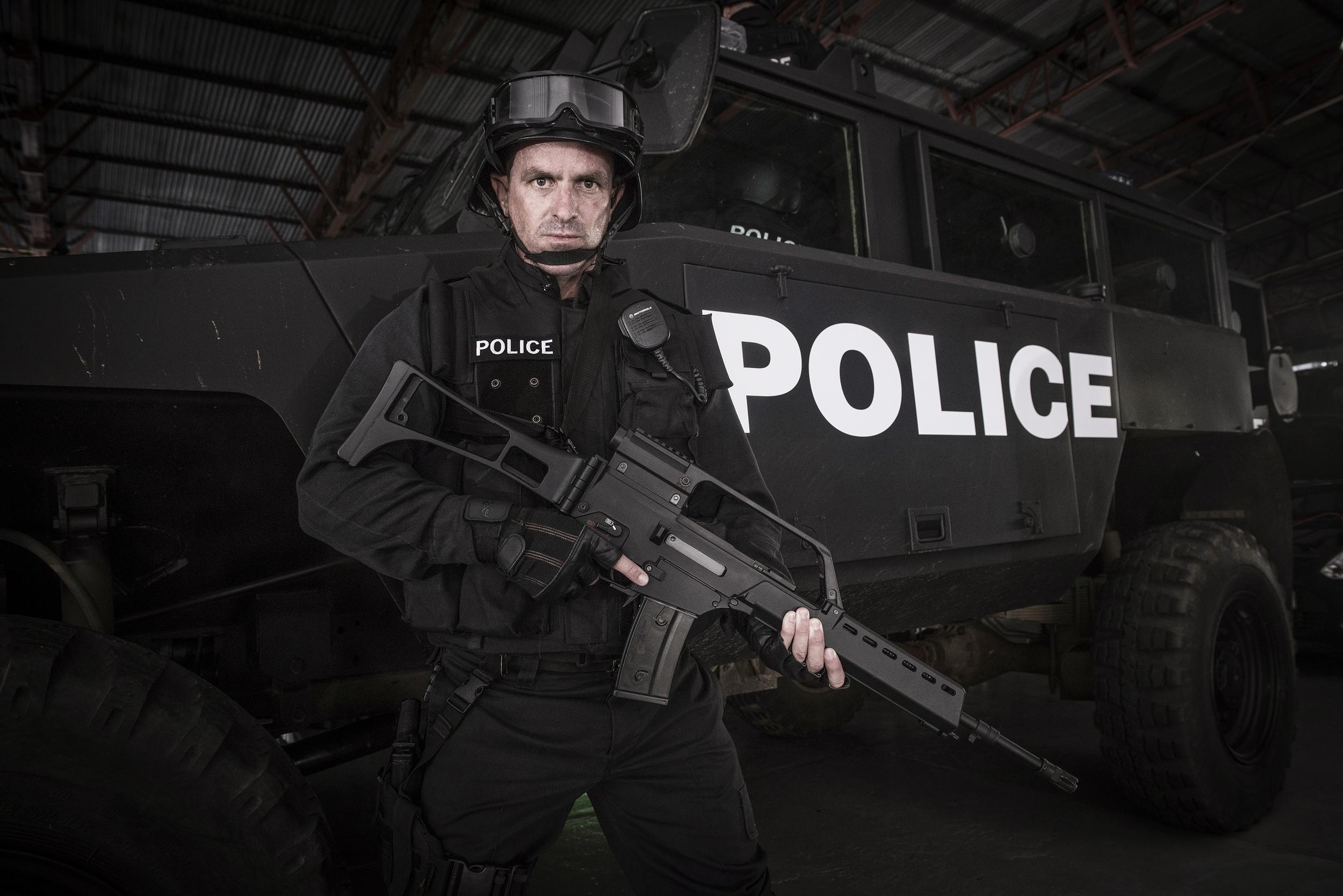 Still of the police