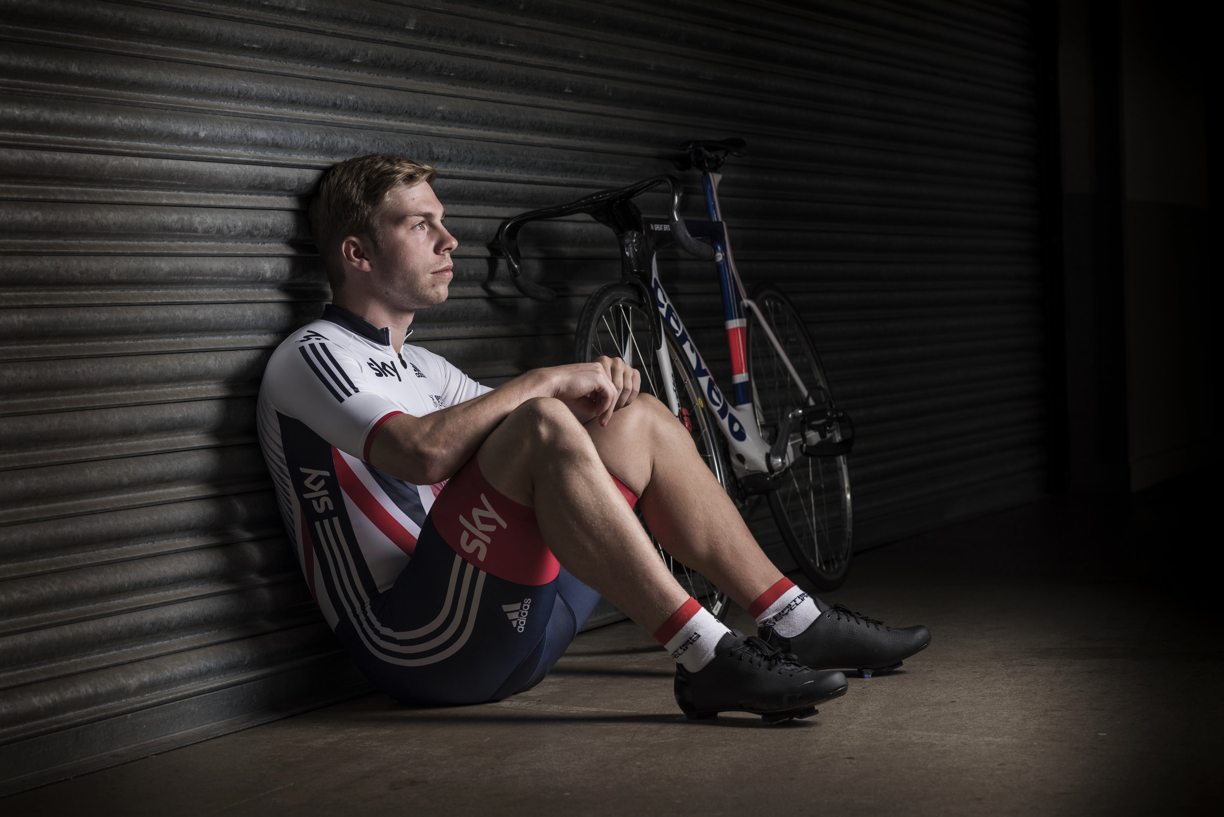 OLYMPIC CHAMPION TRACK CYCLIST PHILIP HINDES PHOTOGRAPHED AT NATIONAL CYCLING CENTER MANCHESTER 5TH JULY 2016 PHOTO CREDIT PAUL COOPER