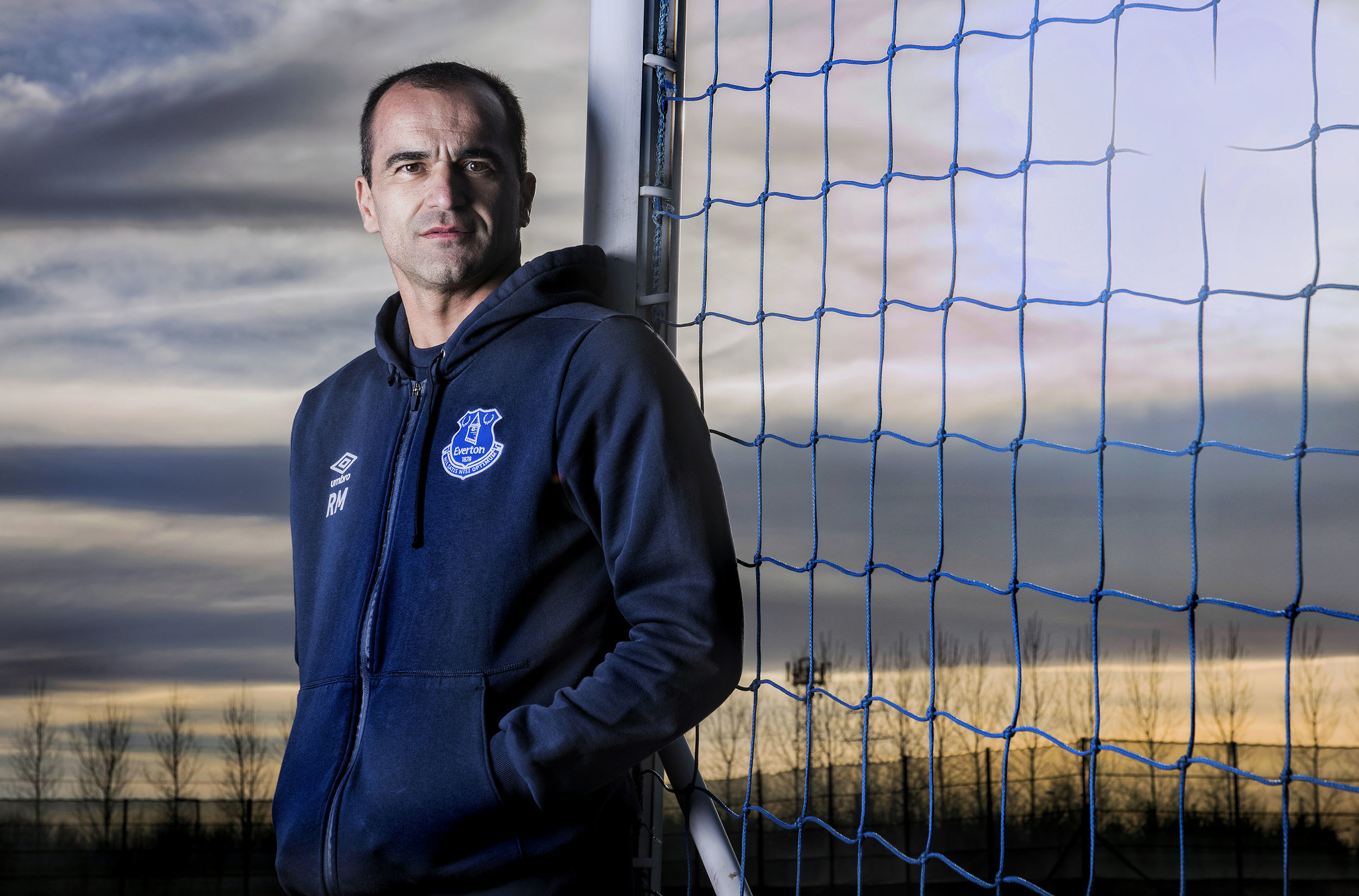 ROBERTO MARTINEZ MANAGER OF EVERTON FC