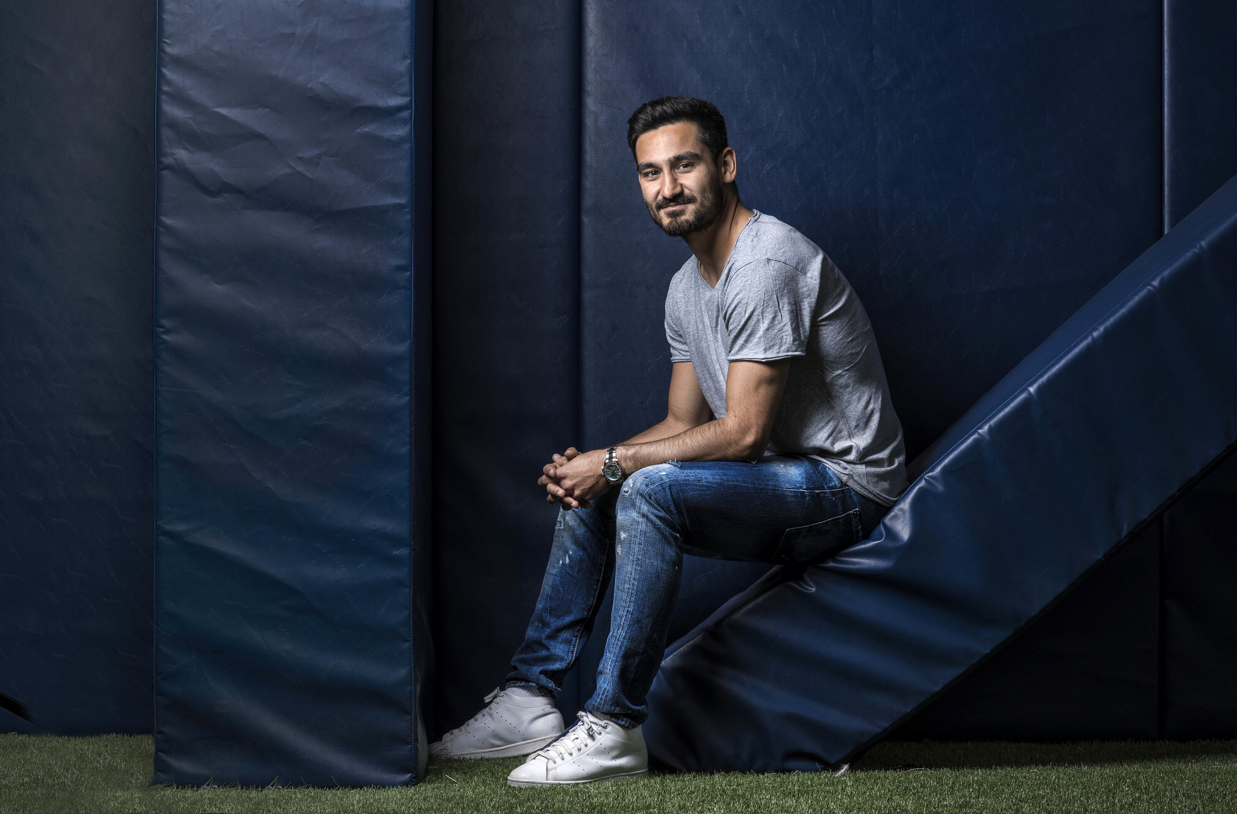 Man City's Ilkay Gundogan photo credit Paul Cooper