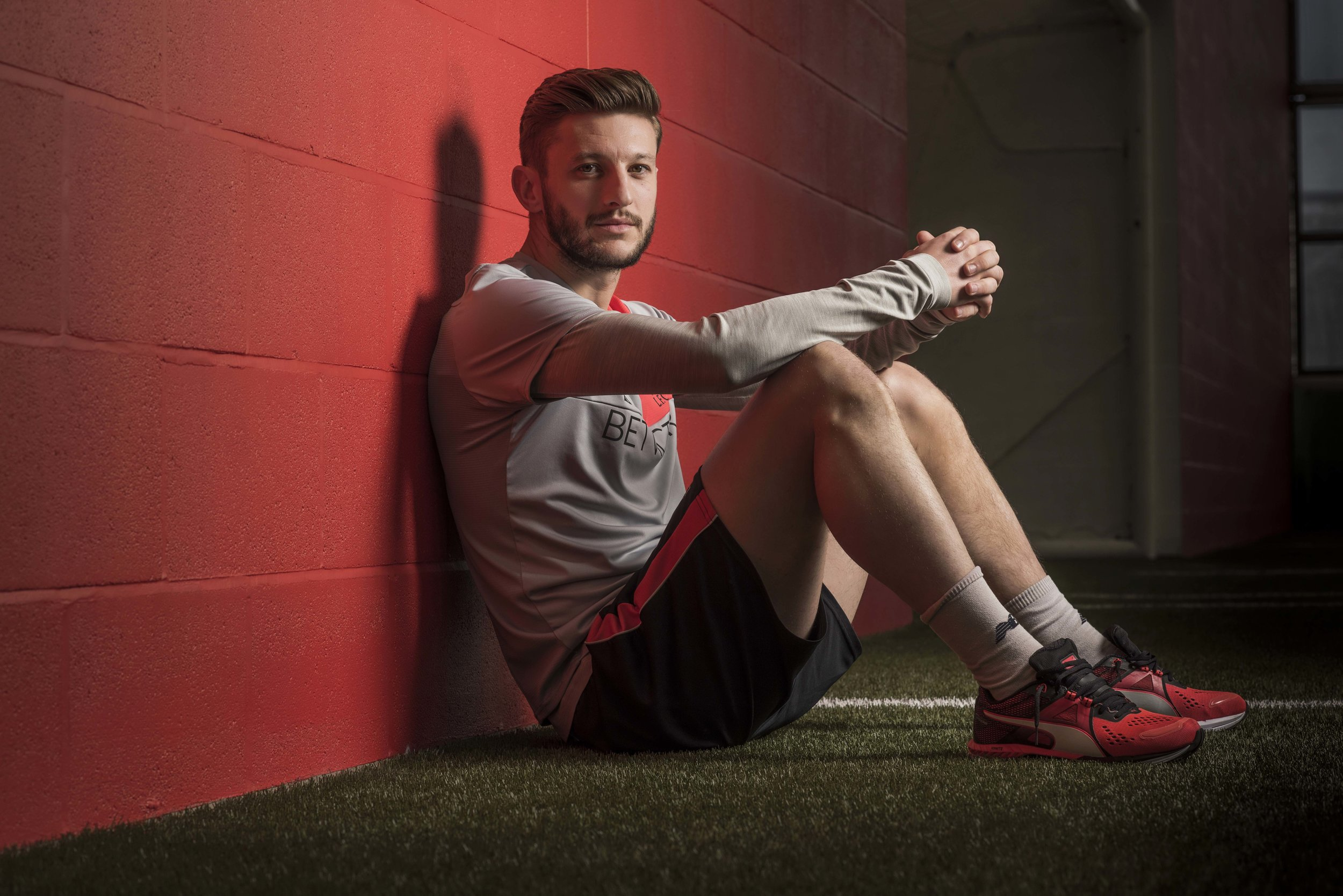 ADAM LALLANA OF LIVERPOOL FC AND ENGLAND  PICTURED AT MELWOOD PHOTO CREDIT PAUL COOPER