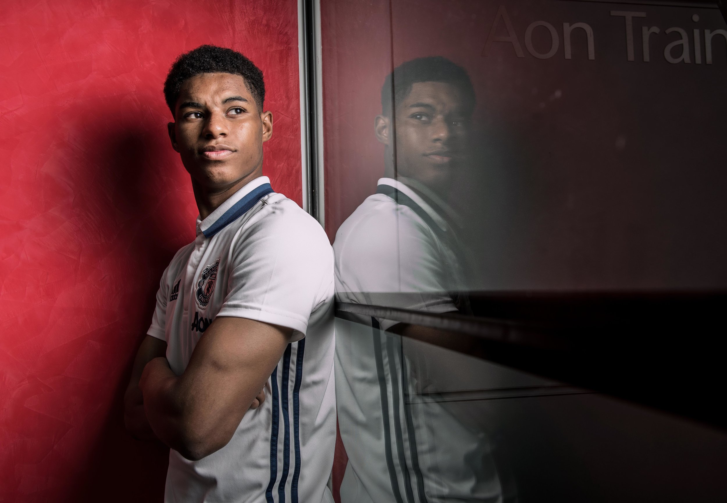 MARCUS RASHFORD OF MANCHESTER UNITED PHOTOGRAPHED AT AON TRAINING GROUND 25TH APRIL 2017 PHOTO CREDIT PAUL COOPER