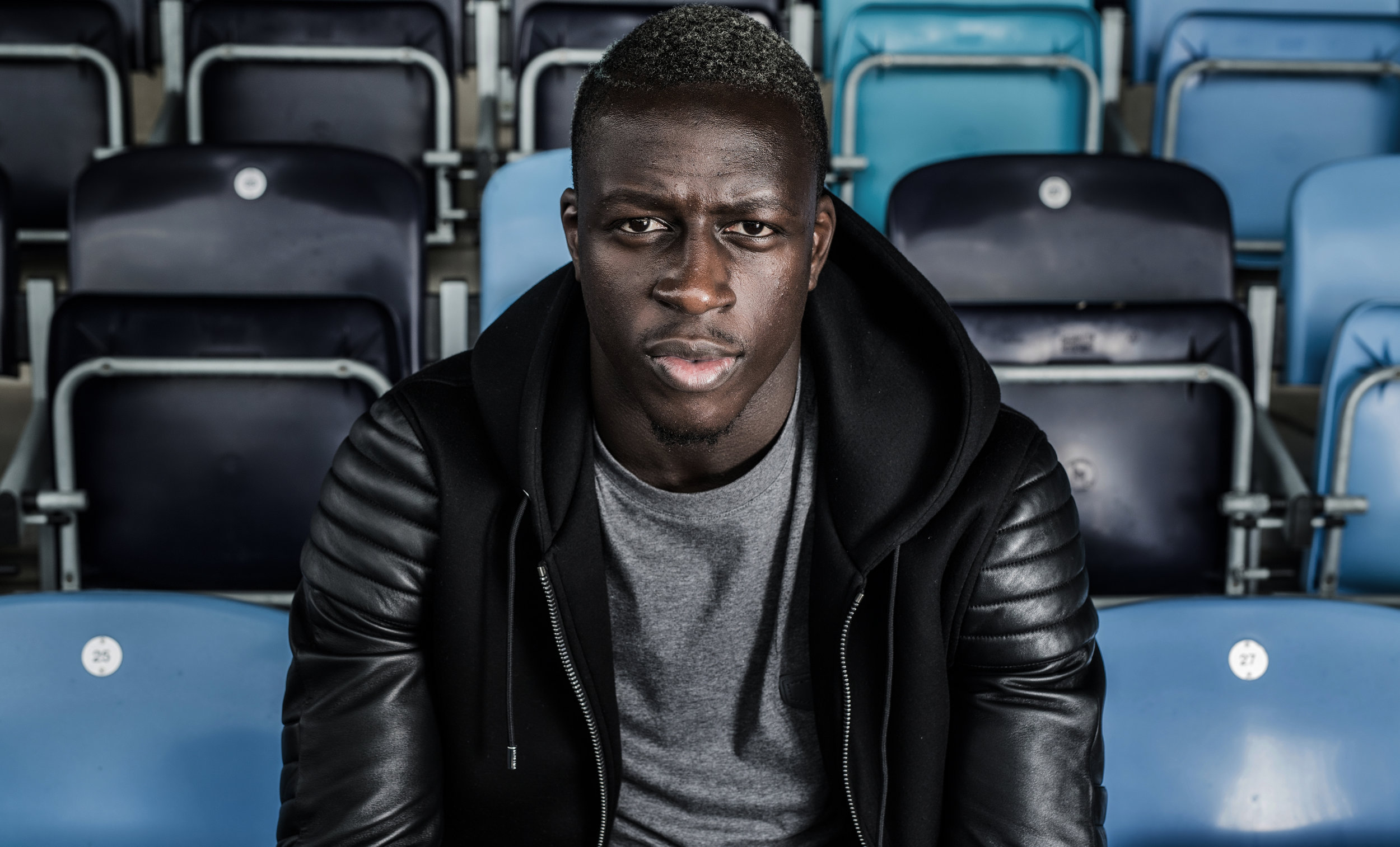 Benjamin Mendy is a French professional footballer who plays as a left back for Premier League club Manchester City and the France national team.  pictured at tarining ground Photo Paul Cooper