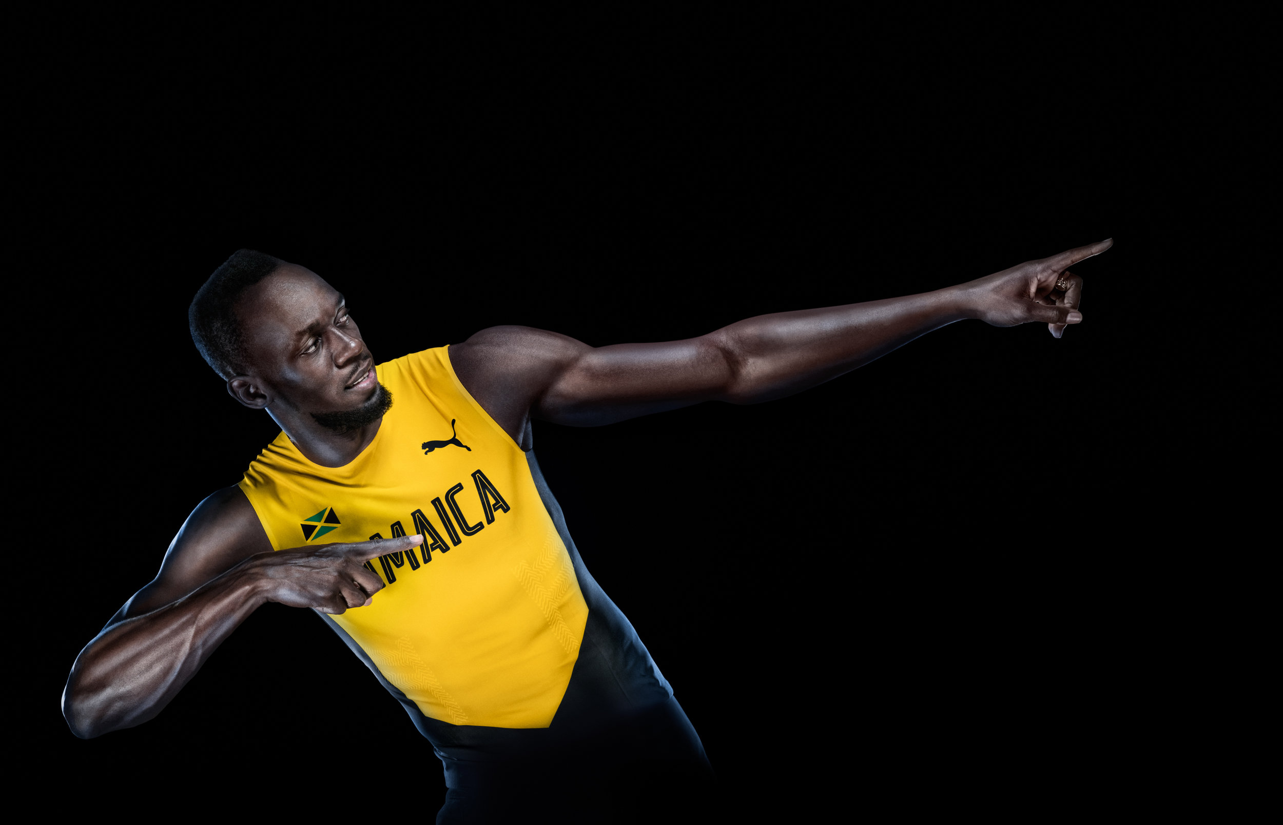WORLD'S FASTEST MAN ATHLETE USIAN BOLT PHOTO BY PAUL COOPER
