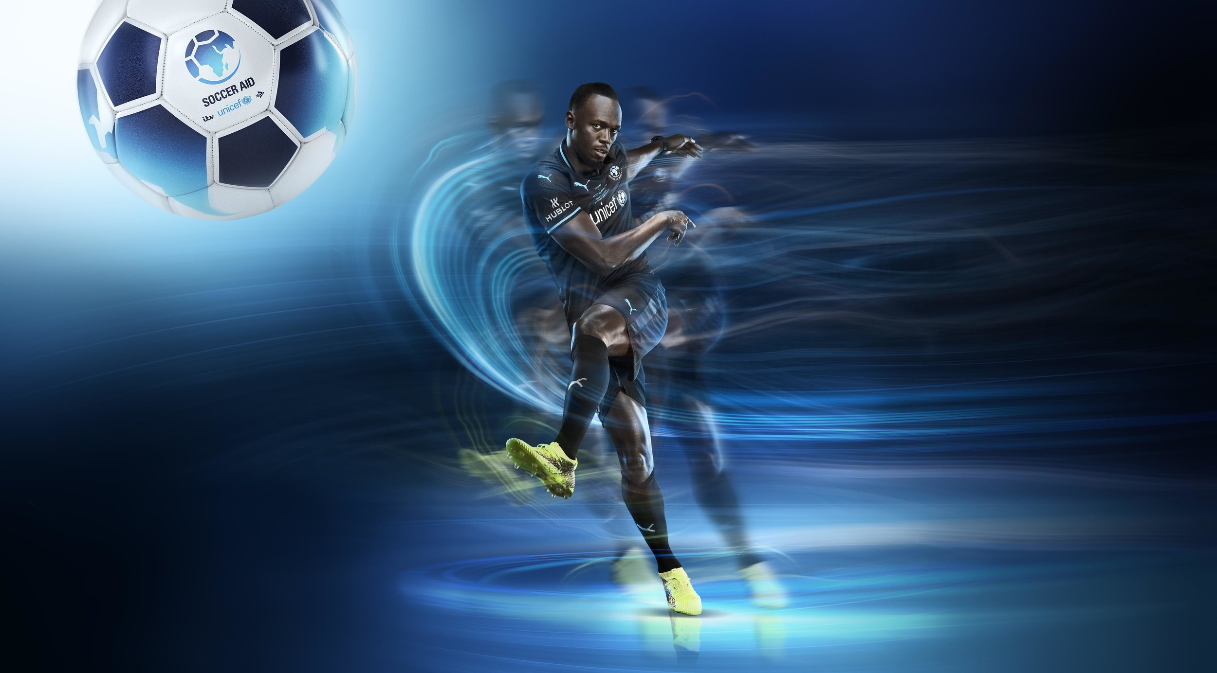 USAIN BOLT FOOTBALL