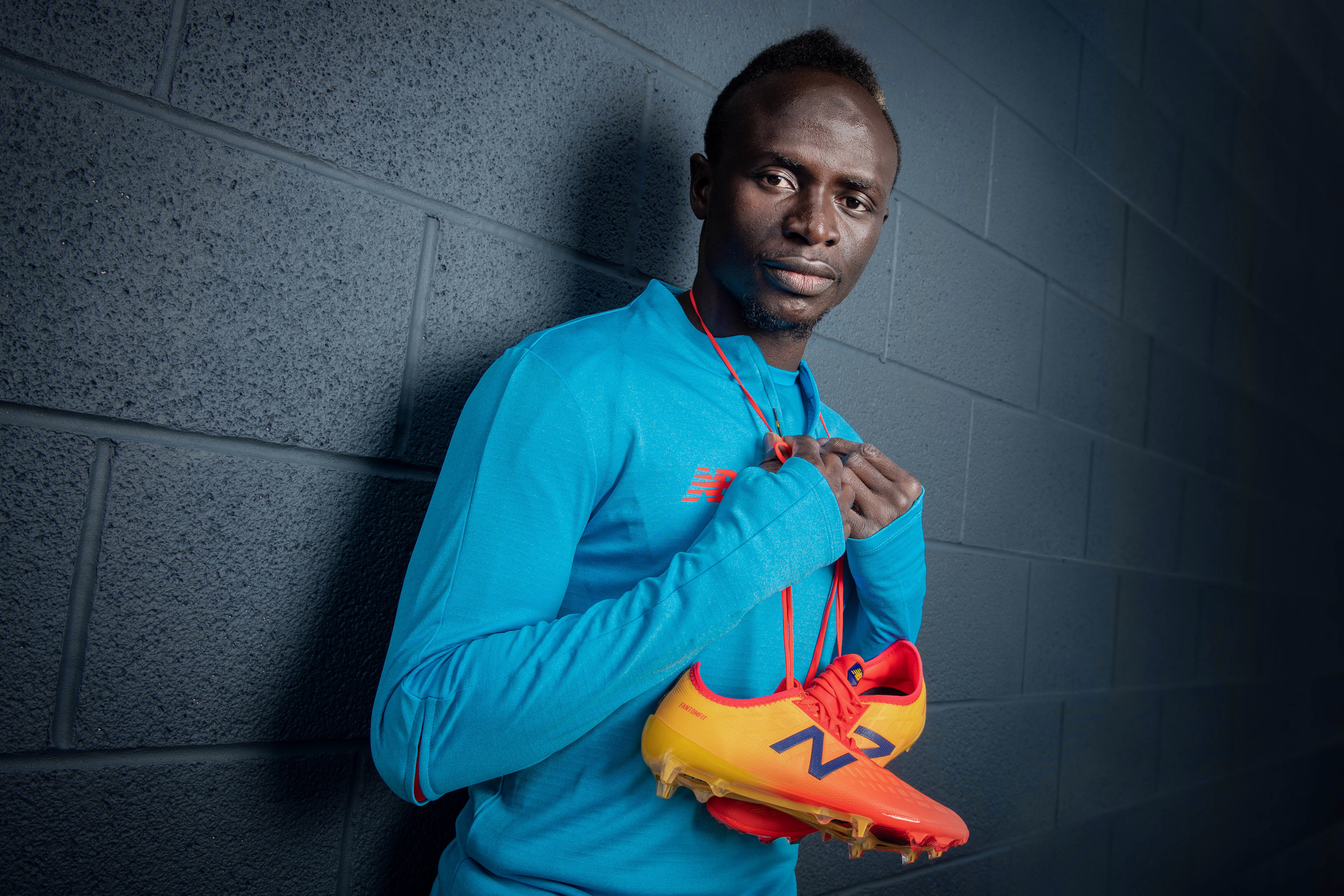 SADIO MANE PORTRAIT NEW BALANCE FURON PHOTO CREDIT PAUL COOPER/PCOOPERPHOTO.COM