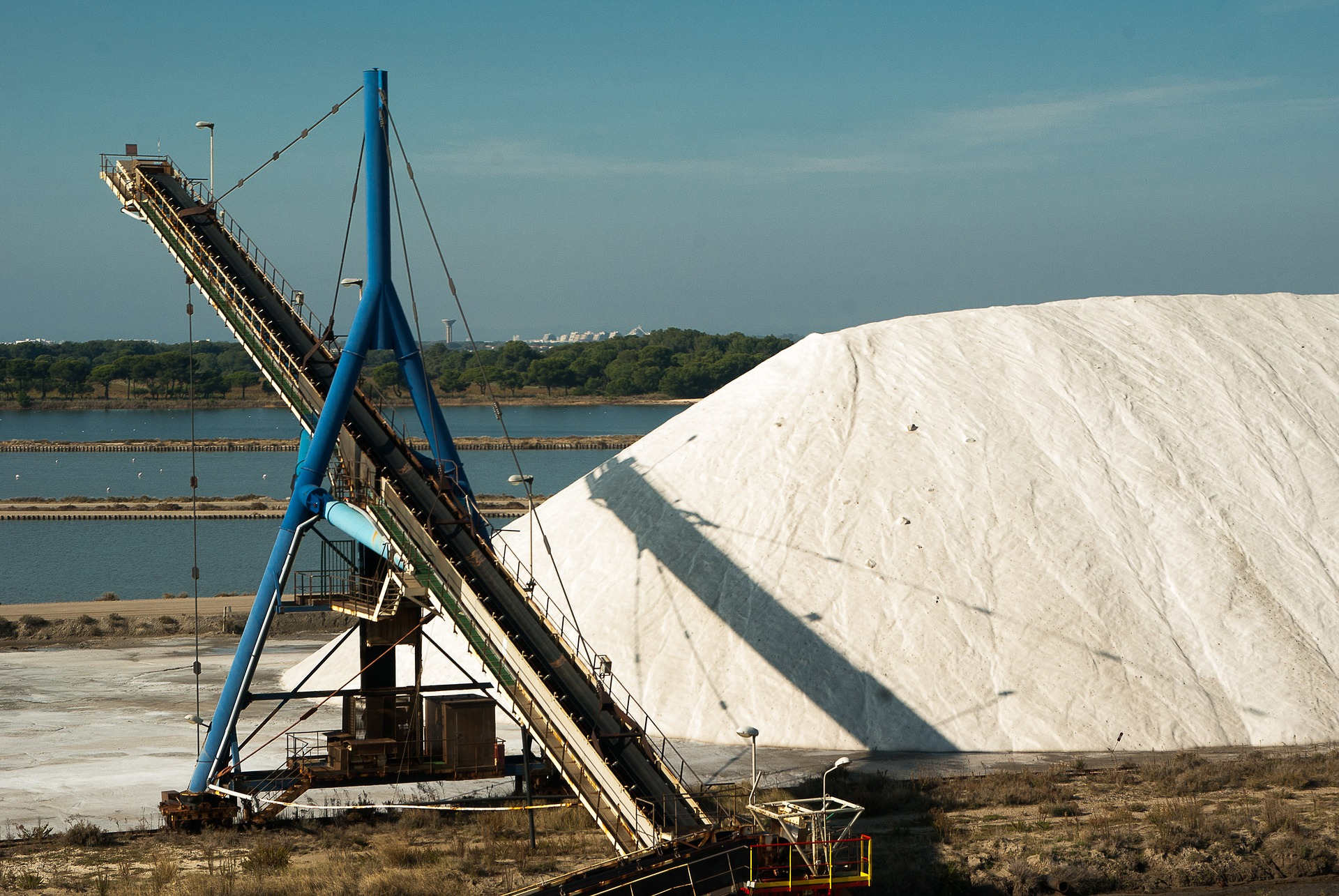 Salt harvesting since prehistoric times in Camargue, France