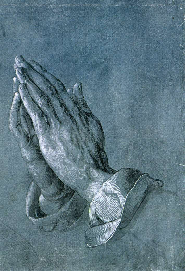 https://simple.wikipedia.org/wiki/Prayer#/media/File:Albrecht_Dürer_Betende_Hände.jpg