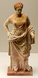 Corinthian statue of goddess Aphrodite, 4th century BCE