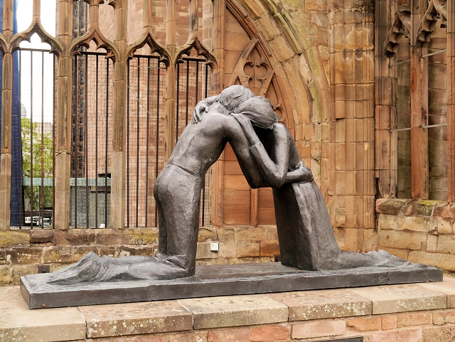 """Reconciliation,"" Coventry Old Cathedral, Great Britain"