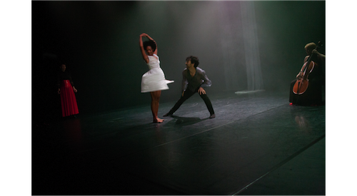 Dancers: Alejandro Altamirano and Yanelis Brooks-Sanchez, Vocals: Bodil Lunde Rørtveit, Cello: Siri Hilmen