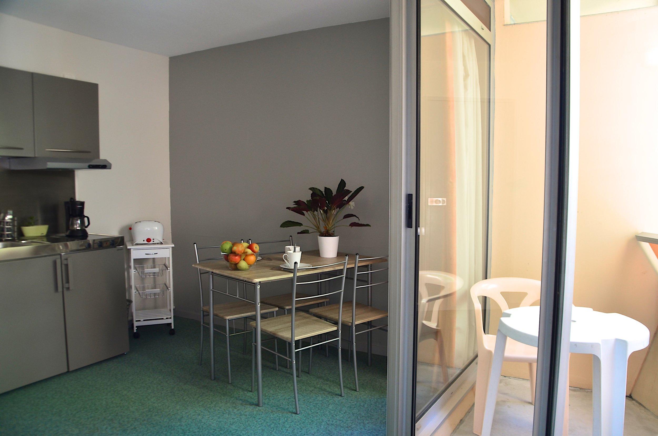 Appartement Dax Hôtel Cuisine