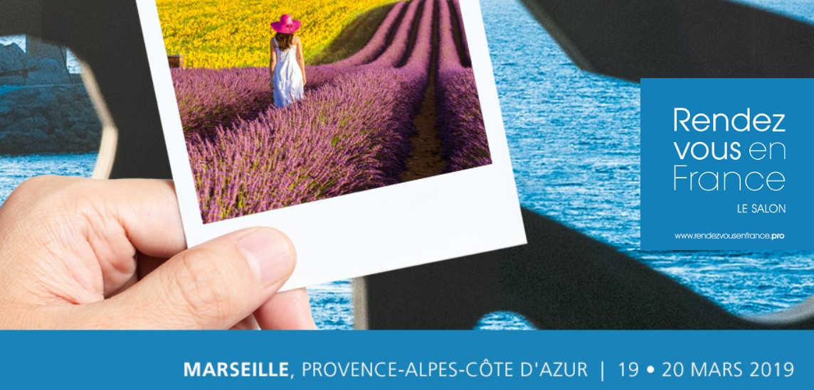 19 et 20 Mars 2019 - SALON BIENVENUE EN FRANCE, MARSEILLE