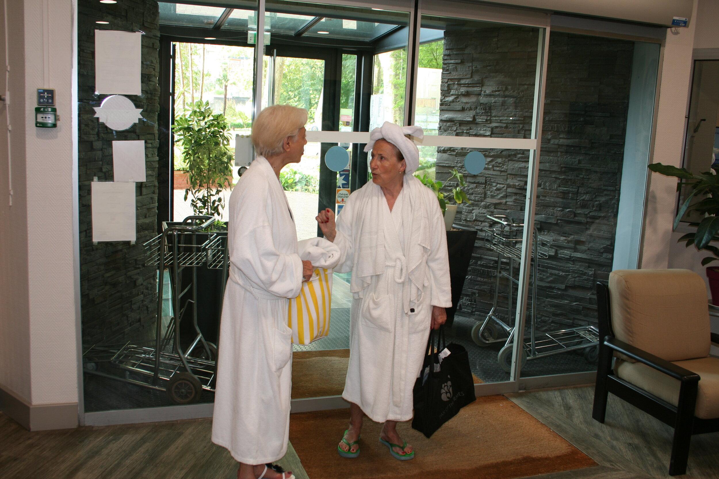 Accès direct établissement thermal dax hotel